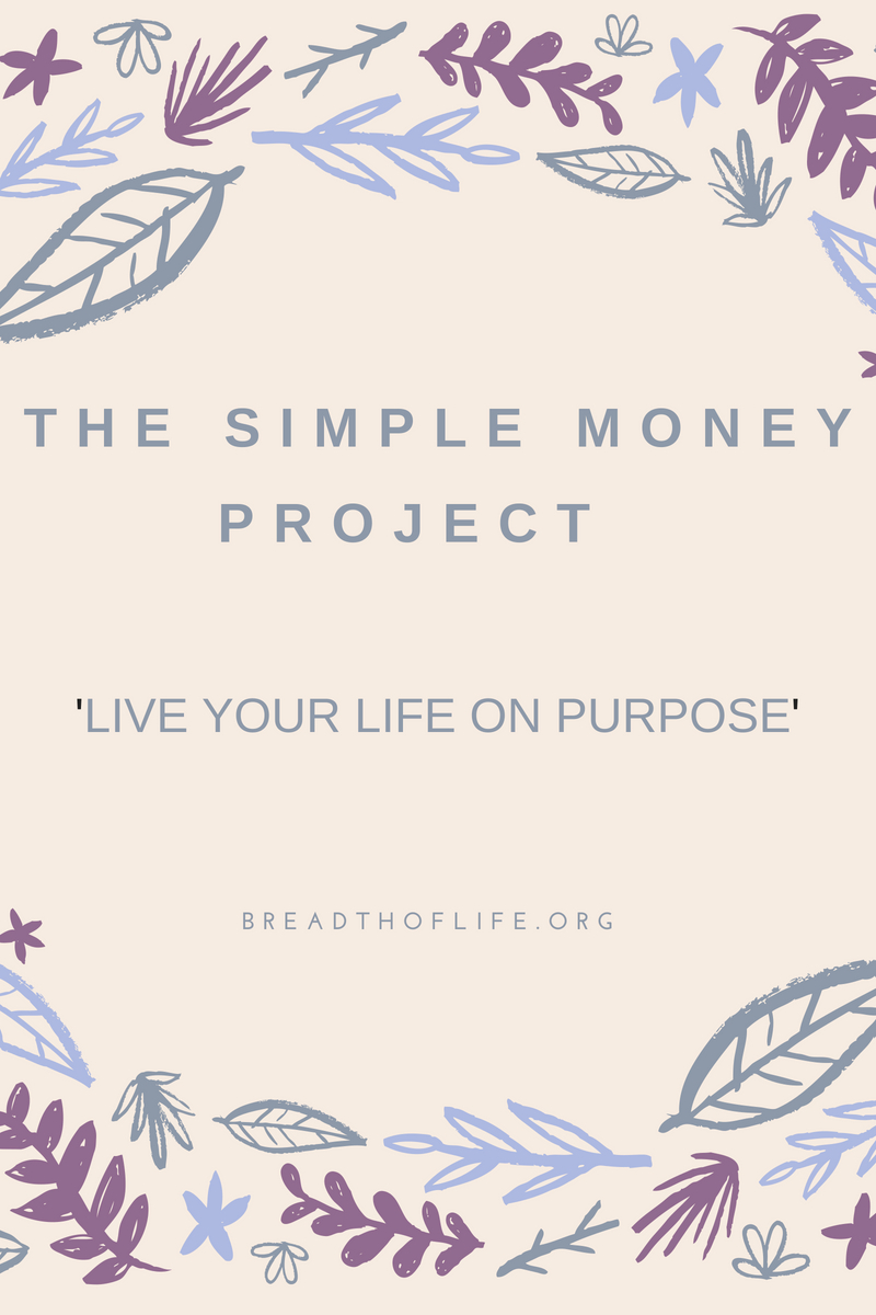 The Simple money project